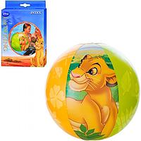 """Детский надувной мяч """"Король Лев"""" Intex 58052 (61 см)"""