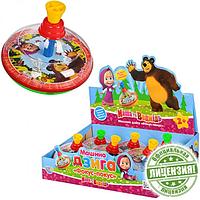 Детская игрушка Юла Маша и Медведь MM 0145 U
