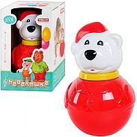 Музыкальная игрушка Неваляшка Белый медведь 01604 Stellar