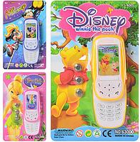 Детская игрушка интерактивный телефон 6300 Q Мультибренд (3 вида)
