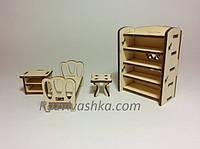 Набор мебели Спальня для PetShop, зверюшек, пони, творчества