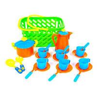 Посуда в корзинке Kinder Way 04-437