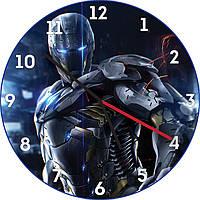 Часы настенные Боевая машина