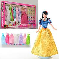 Кукла с нарядами и аксессуарами Defa (8263)