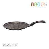 Сковорода блинная Marmo Induction 24 см. Granchio 88005