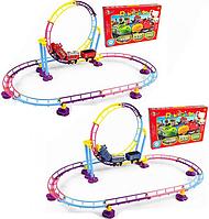 Детская железная дорога 702-1-2-3 Chuggington (3 цвета)