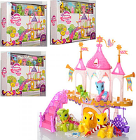 Игровой набор Домик для пони 6628A-1-2-3-4 My little Pony (4 вида)
