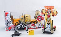 Грузовик- трансформер Робот на радиоуправлении, свет, звук