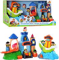 Развивающая игра Замок и корабль пиратов Hap-p-Kid (3884-85 T)