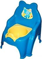 Горшок детский №2, 013317-1 (голубой)