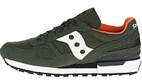 Оригинальные мужские кроссовки Saucony Shadow (Саукони) хаки
