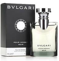 Мужская оригинальная туалетная вода Bvlgari Pour Homme Soir, 50 ml  NNR ORGAP / 06-22