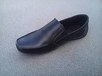 Мокасины туфли детские подростковые кожаные 32-39 р