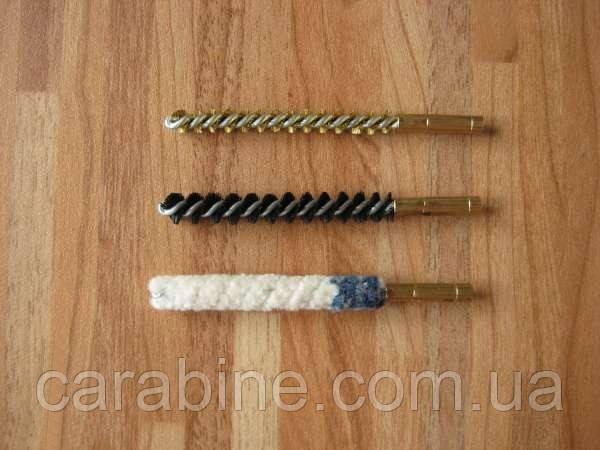 Набор ершиков для чистки ствола пневматических ружей