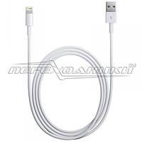 Data-кабель Lightning 8 pin  на USB для iPhone 5, белый