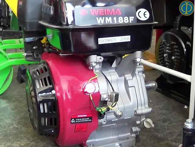 Бензиновый двигатель Weima WM 188F фото 2