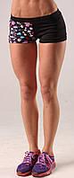 Женские шорты для спорта Dumbbles Berserk Sport черный