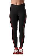 Компрессионные женские штаны для спорта PLASTIC BODY Berserk Sport черный