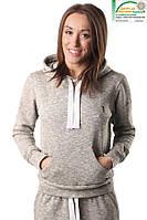 Спортивная женская кофта ATHLETIC HOODI Berserk Sport серый