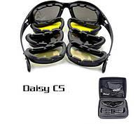 """Милитари очки """"DAISY""""  С5,  4 сменные линзы"""