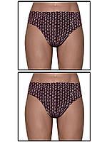 Набор мужских трусов плавок - 2 шт. (Бордовый с розовым)