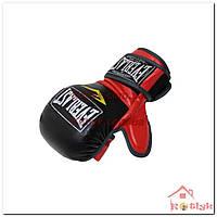 Перчатки для смешанных единоборств MMA Everlast BO-4612-BKR