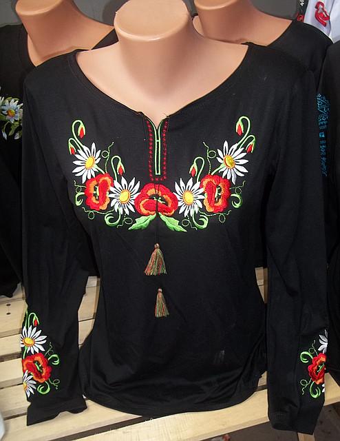 Блузка С Вышивкой Купить Киев