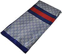 Женский платок Gucci 25257 деним синий