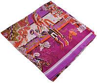 Женский платок Hermes 25401 племя малиновый