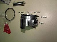 Поршень с кольцами на мотоцикл 250 кубов 69 мм.