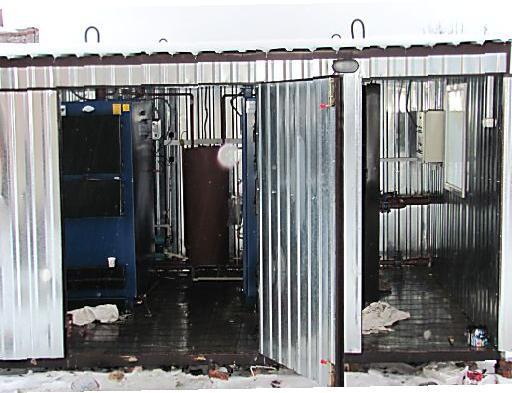 модульная котельная на твердом топливе 15 кв