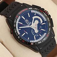 Механические часы TAG Heuer - Carrera Caliber 36 цвет корпуса черный, каучуковый ремешок