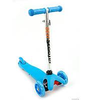 Самокат Бест Скутер 112 с 1,5 до 5 лет трехколесный детский Best Scooter светящимися колесами