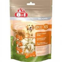 8in1 Лакомство для собак Кость Value Bag 7см*XS