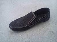 Туфли мужские летние замшевые 40 -47 р-р