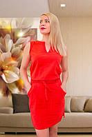 Летнее льняное платье (3)