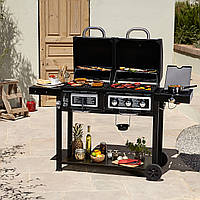 Гриль газовый Uniflame Combination Gas And Charcoal Grill