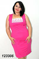 Летнее платье с кружевом 52,54,56