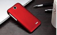 Пластиковый чехол для HTC Desire 310 бордовый