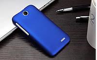Пластиковый чехол для HTC Desire 310 синий