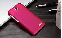 Пластиковый чехол для HTC Desire 310 малиновый