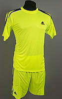 Футбольная форма игровая Adidas Lime (Адидас лайм)