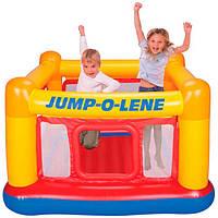 Надувной игровой центр - Батут Замок PLAYHOUSE JUMP-O-LENE Intex 48260 (174*174*112 см).