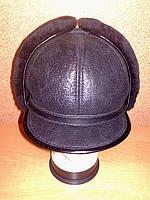 """Мужская шапка из натуральной овчины модель """"Эталон"""""""