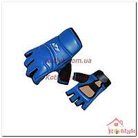 Перчатки (накладки) для таеквондо WTF BO-2016 синие