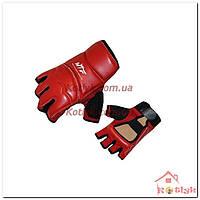 Перчатки (накладки) для таеквондо WTF BO-2016 красные