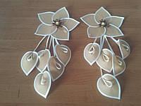 Цветы тканевые цв-2