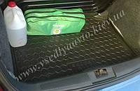 Коврик в багажник SKODA Fabia I до 2007 г. хетчбэк (Автогум AVTO-GUMM) пластик+резина