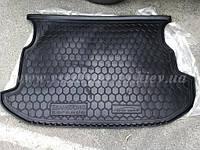 Коврик в багажник SSANG YONG Korando (Автогум AVTO-GUMM) пластик+резина