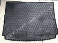 Коврик в багажник SSANG YONG Kyron (Автогум AVTO-GUMM) пластик+резина